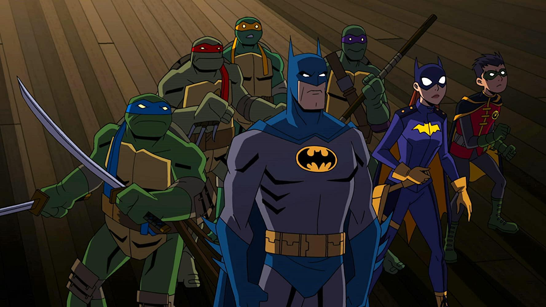 مشاهدة فيلم Batman vs. Teenage Mutant Ninja Turtles (2019) مترجم HD اون لاين