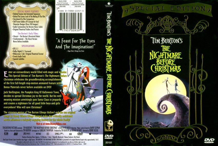 فيلم The Nightmare Before Christmas 1993 مترجم
