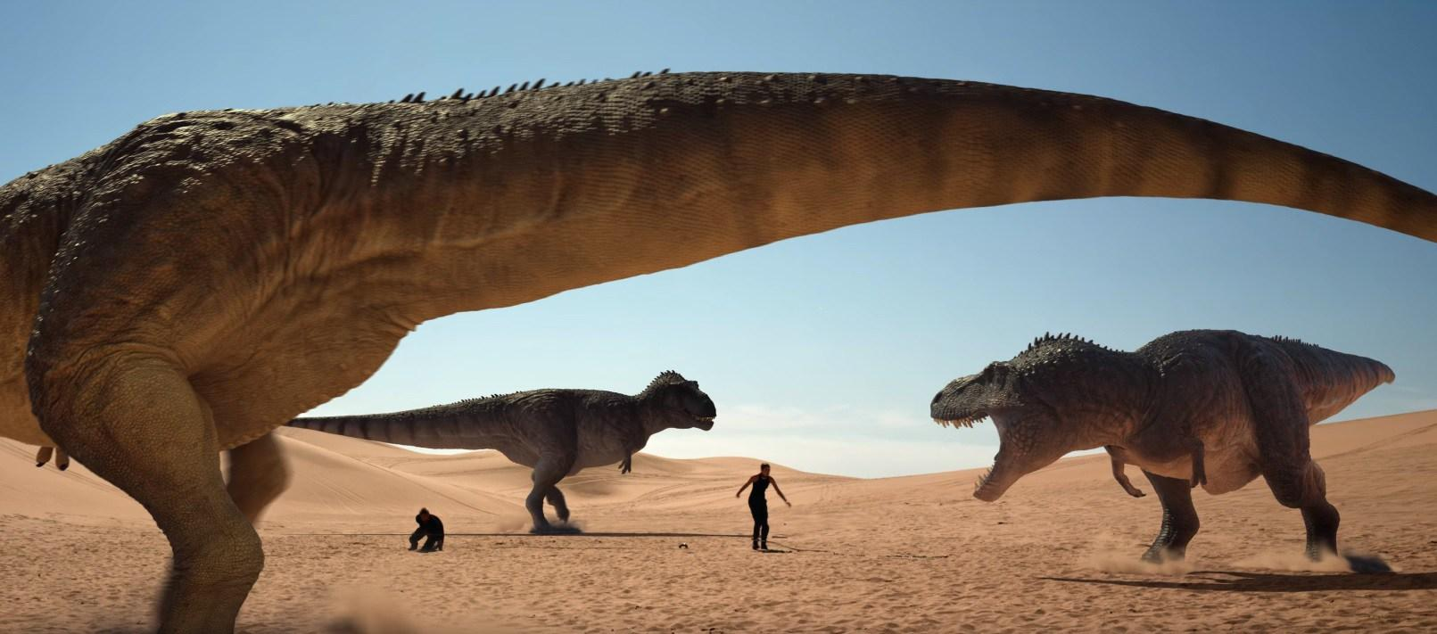 فيلم The Jurassic Games 2018 مترجم