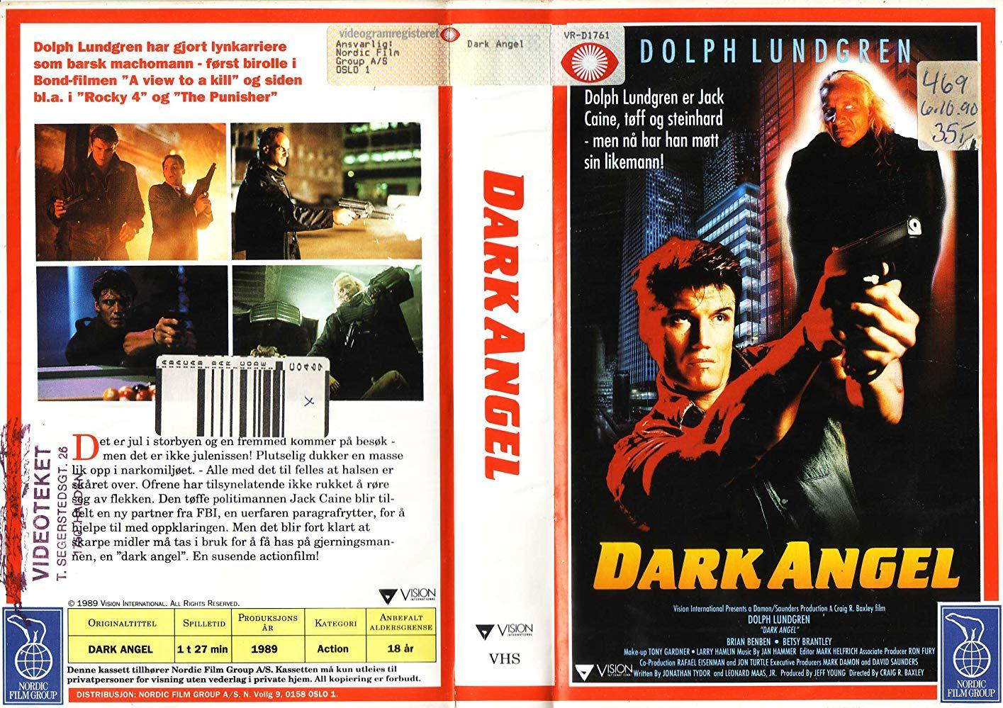 فيلم Dark Angel 1990 مترجم