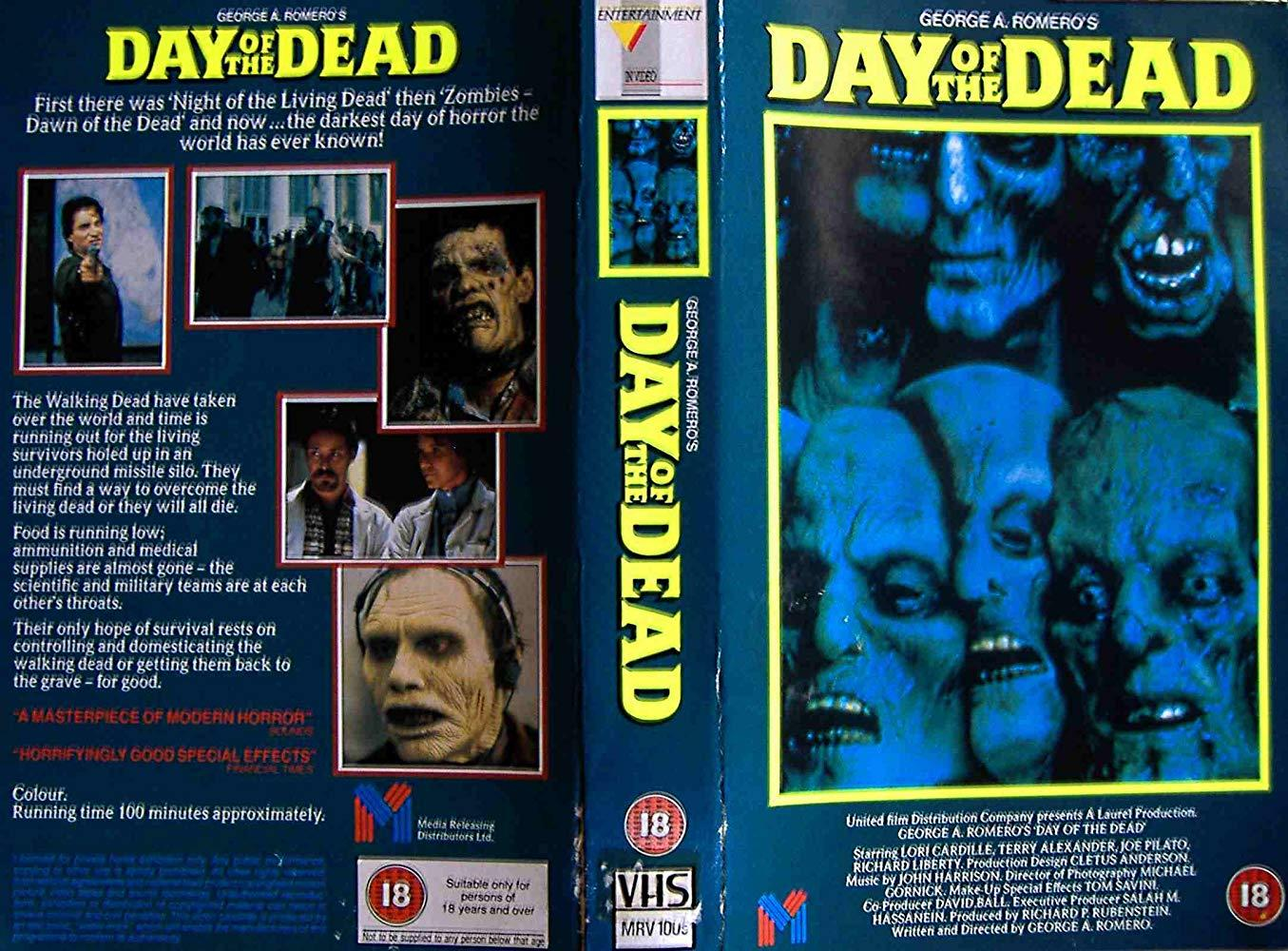 فيلم Day Of The Dead 1985 مترجم