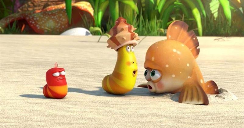 مشاهدة فيلم The Larva Island Movie (2020) مترجم HD اون لاين