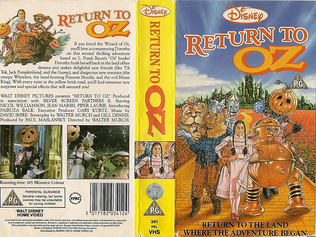 فيلم Return To Oz 1985 مترجم
