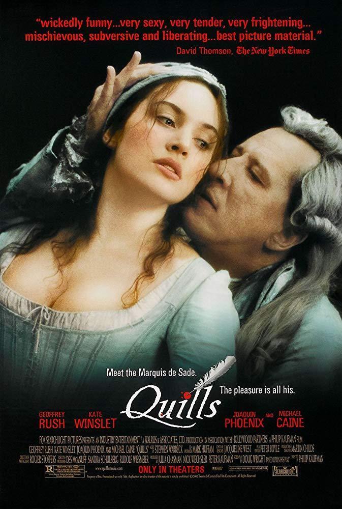 فيلم Quills 2000 مترجم (للكبار فقط)