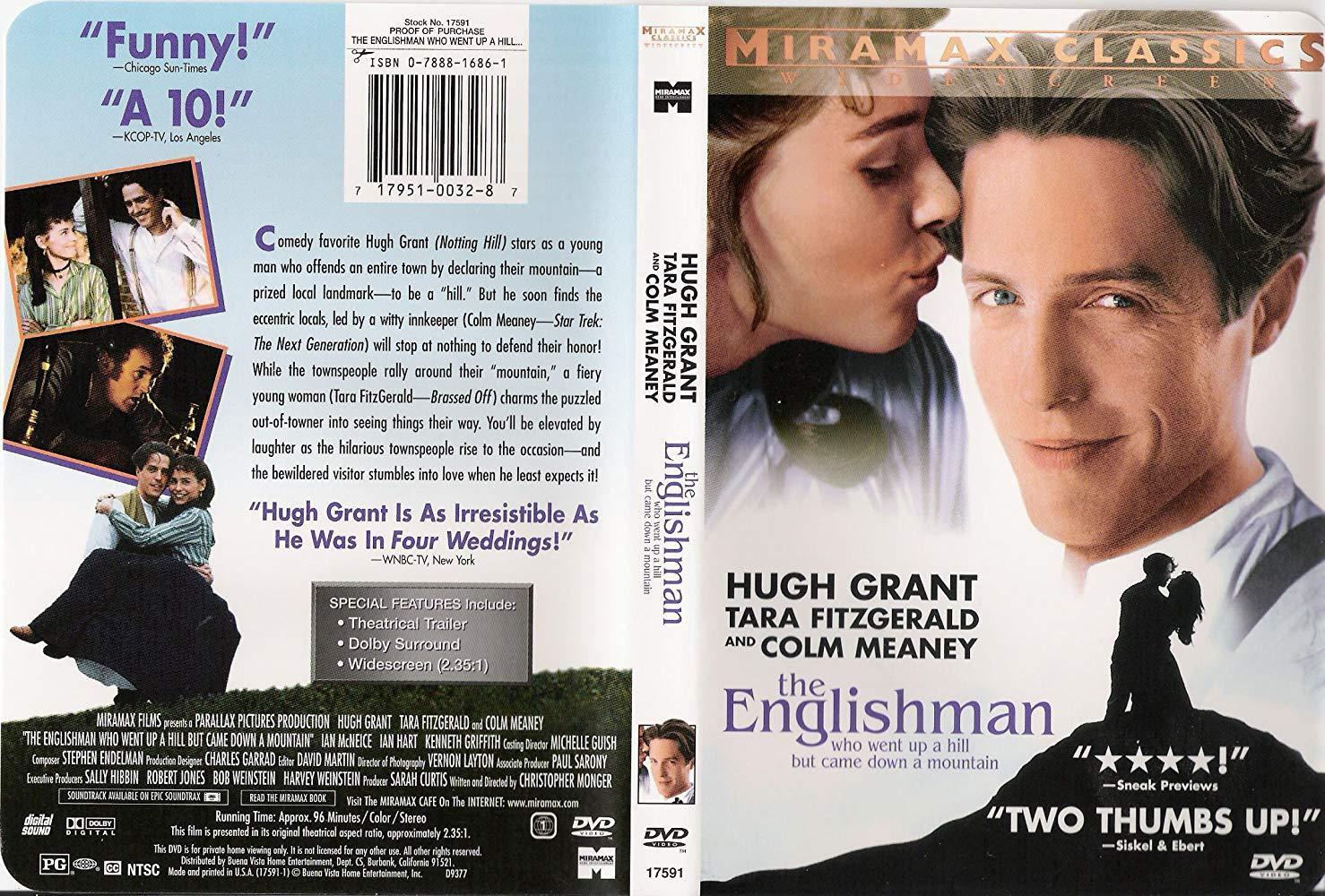فيلم The Englishman Who Went Up a Hill But Came Down a Mountain 1995 مترجم