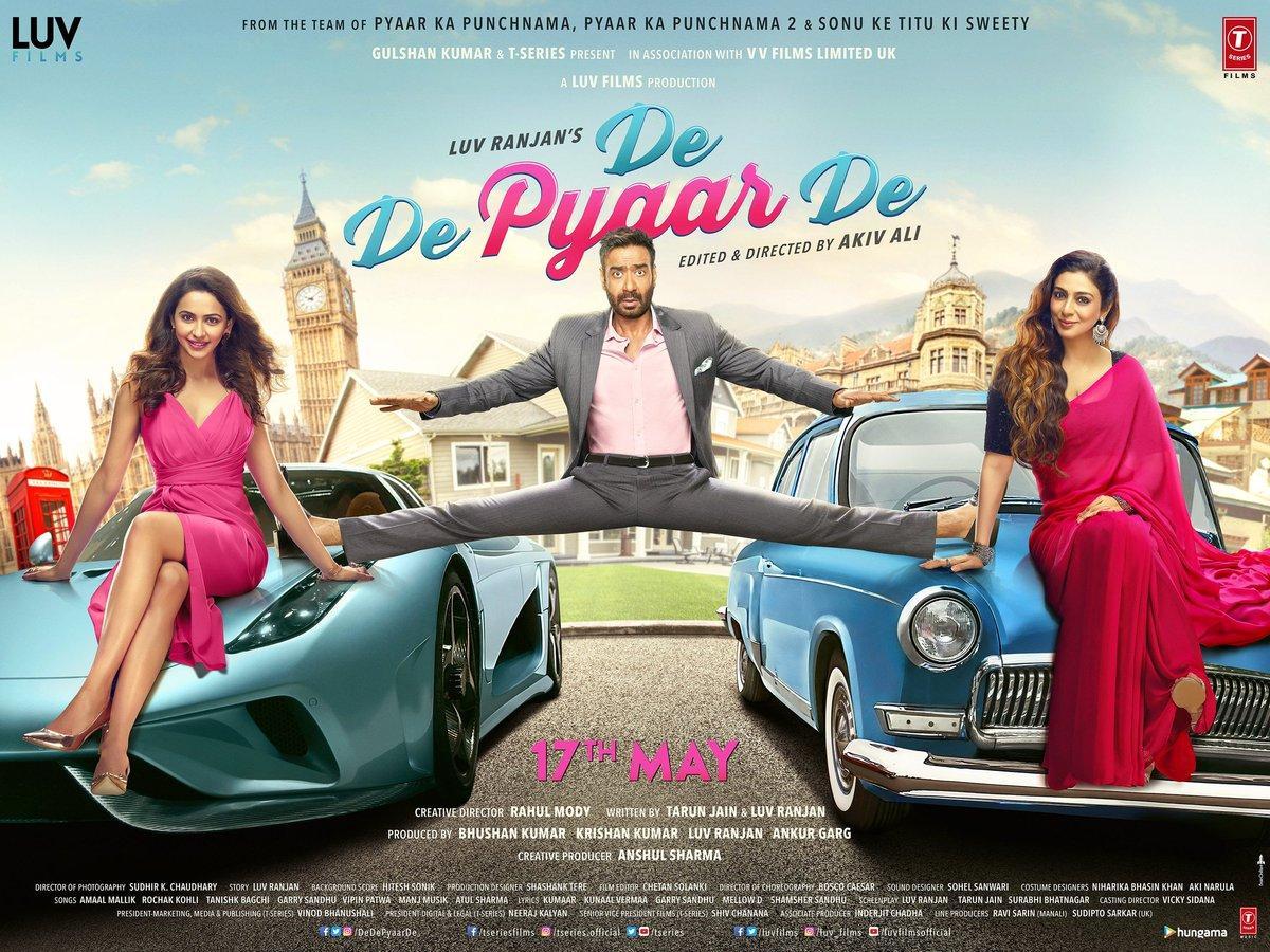 مشاهدة فيلم De De Pyaar De (2019) مترجم HD اون لاين