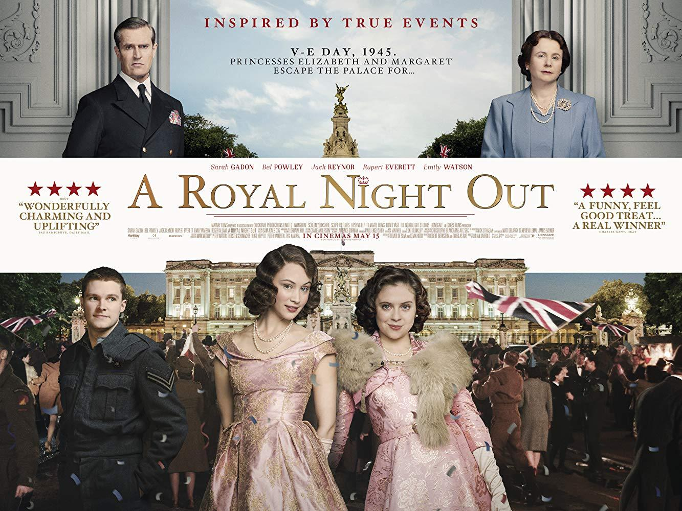 فيلم A Royal Night Out 2015 مترجم