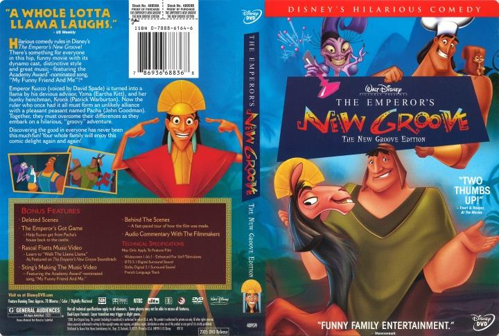فيلم The Emperor's New Groove 2000 مترجم