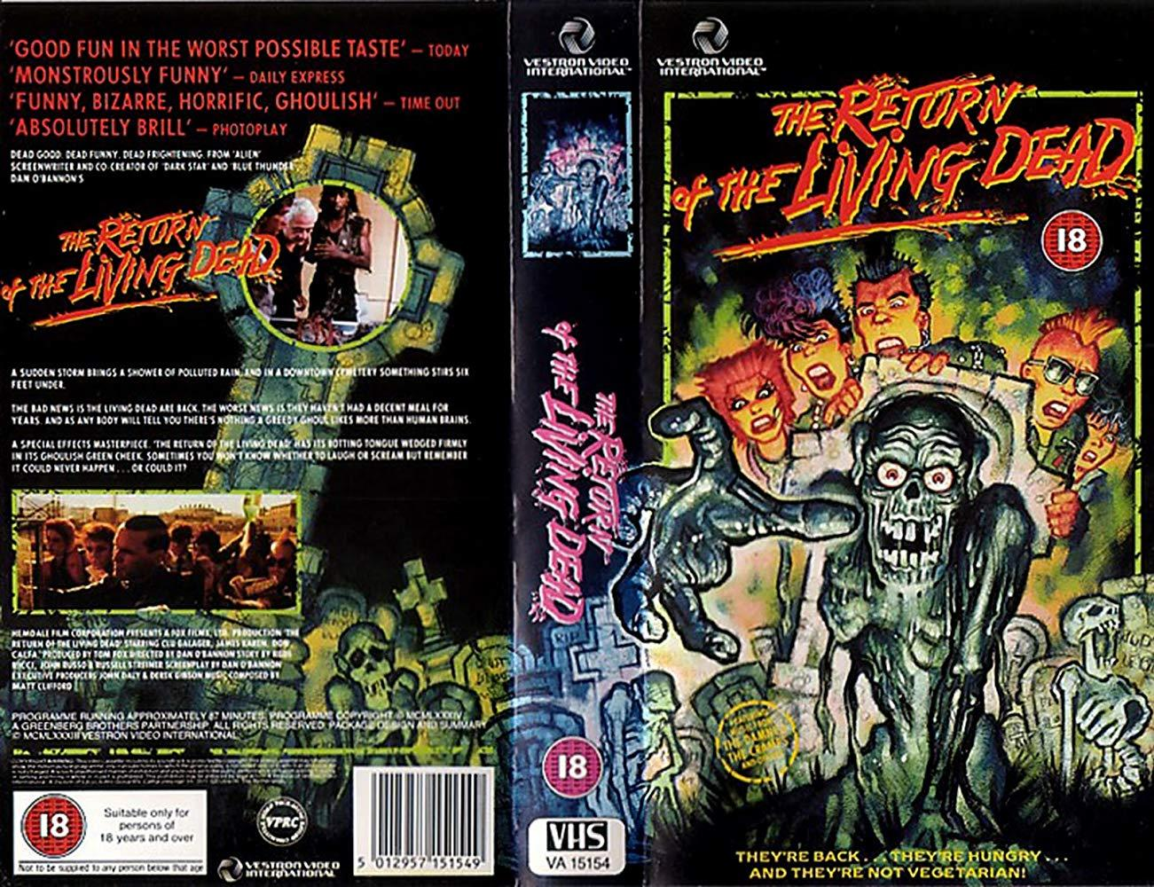 فيلم The Return Of The Living Dead 1985 مترجم