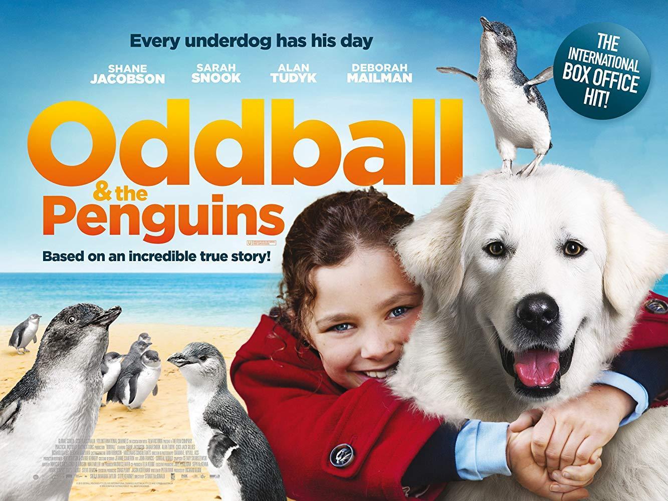 فيلم Oddball and the Penguins 2015 مترجم