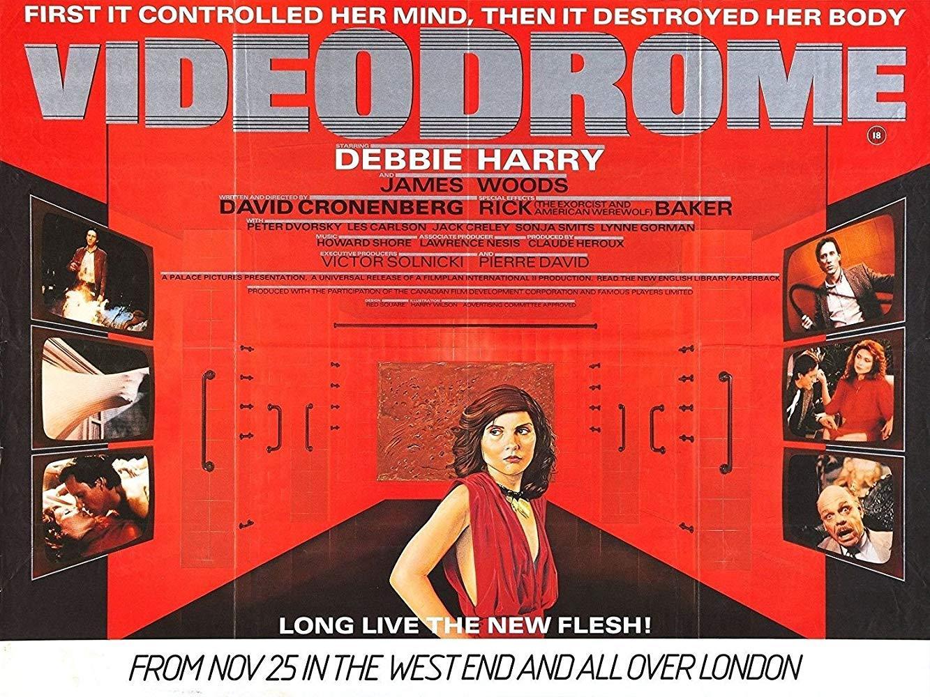فيلم Videodrome 1983 مترجم