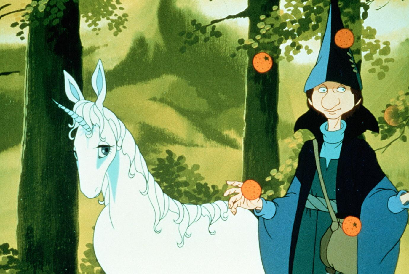 فيلم The Last Unicorn 1982 مترجم