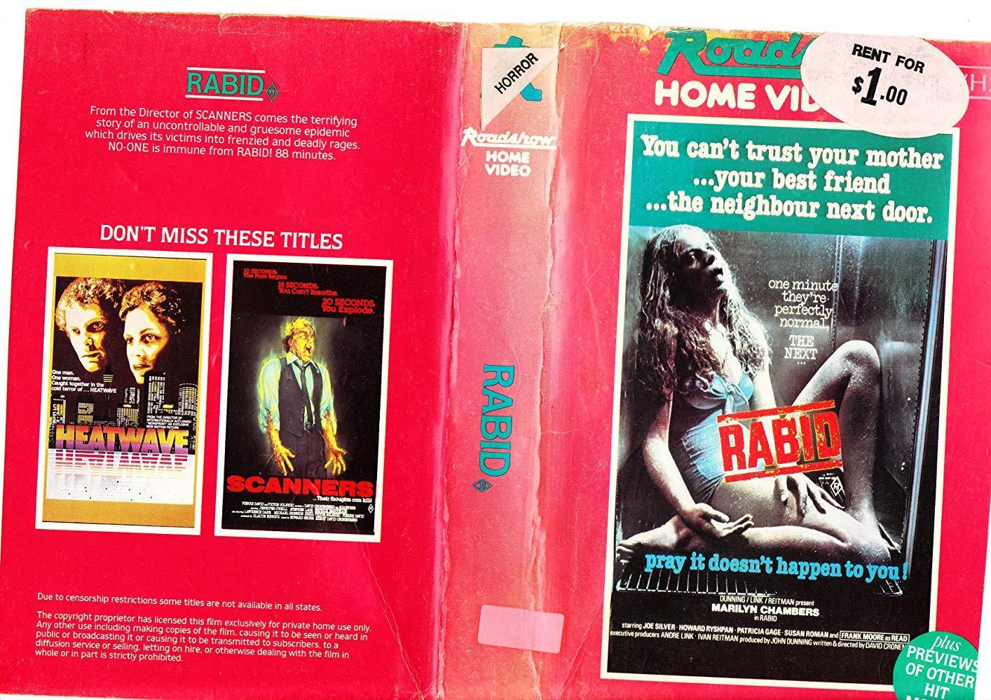 فيلم Rabid 1977 مترجم (للكبار فقط)